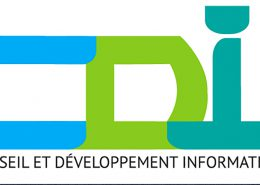Logo cdi crée par Franck Artaud infographiste