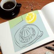 Franck Artaud dessine vos illustrations pour vos publication print et web